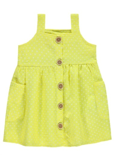 Civil Baby Civil Baby Kız Bebek Elbise 6-18 Ay Sarı Civil Baby Kız Bebek Elbise 6-18 Ay Sarı Sarı